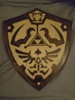 Hylian Shield by Envorenn