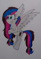 Crystal Cadence the sphinx-pony by ArtKing3000