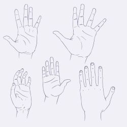 Hand sheet + reference download by Dragonslayer999