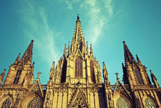 Catedral de Barcelona by Alex-E