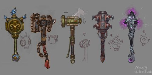 maces by Sidxartxa