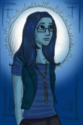 Jamuna is the Moon by Larkie-Star