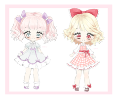 Ribbon adoptables / SOLD by Cheriin