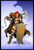 Red Sonja by Frank Cho by DrDoom1081
