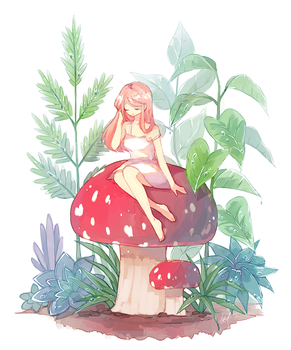 Toadstool by h-yde