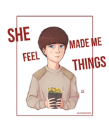 She Made Me Feel Things by lizthecactus