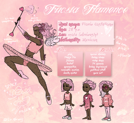 The Pink Princess | REFERENCE SHEET by SirAlerris
