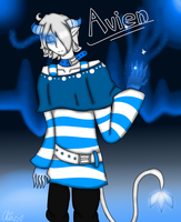 (Art Trade)-Avien Michael by HerrenLovesFNAF