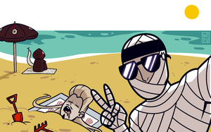 Beach Kages by Wi-Fu