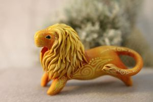 Sun Lion miniature by hontor