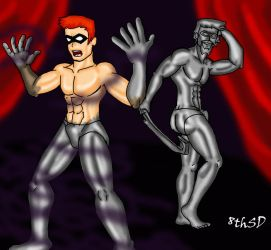 Duke Green Arrow and Red Arrow Commiss 1 by TheEigthSinDeath