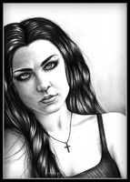 Amy Lee Evanescence by DemidovArt