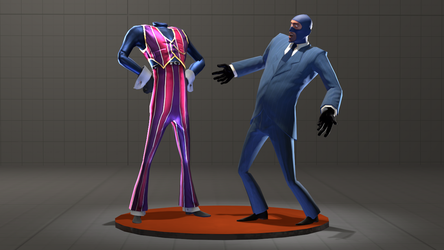 Robbie Rotten Spy but without the Head by Py-Bun