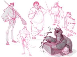 Some more characters... by Dattaraj