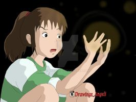 Chihiro-Spirited Away by Angelii-D