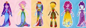EqG: Dresses for the last big night by Antych