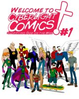 Cyberlight Intro Comic Cover by JCServant