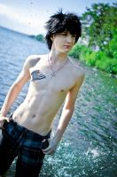 Fairy Tail: Gray Fullbuster beach mode by Peamstunk