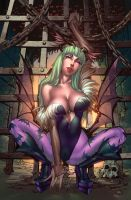 Morrigan !!! Color! by Danielleister