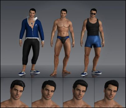 Kaidan Alenko (Summer Fashion) by deexie