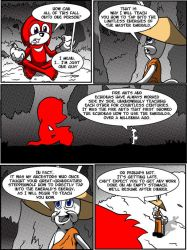 Knux Redux Issue 2 Page 2 by Emerald-Coast-Comics