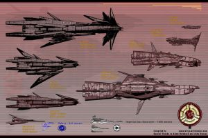 Ships of the Line, M-Con Scale(mid) by samurairyu