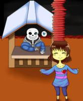 Animated undertale fanart. GIF. CLICK IT. by Anna-CC