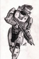 Master Chief by PeterMan2070