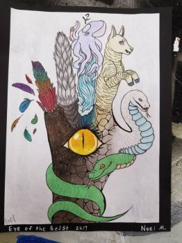 I did this for art class by bonyboa