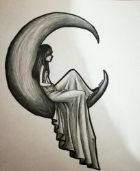 Girl of The Moon | Regalo | by AS941