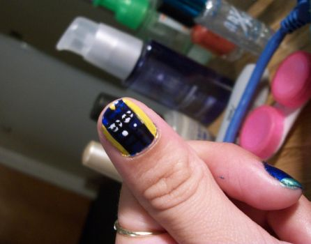 Nail Art By Nycdancerkitty On Deviantart