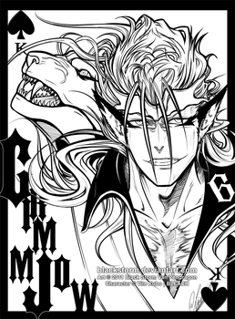 King of Spades +GRIMMJOW + by blackstorm