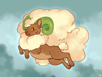 Whimsicott by Susiron