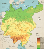 Greater Germany Topgrahical Map (Complete) by Robeatnix