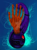 Biomechanical Hand by kayden7