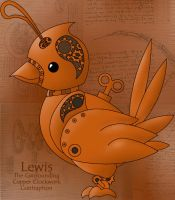 Lewis, the mechanical marvel by theamishpiscodemon