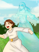 Padme's Ghost by Chyche