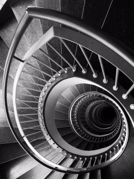 Iphoneshots: stairs by DirkBee