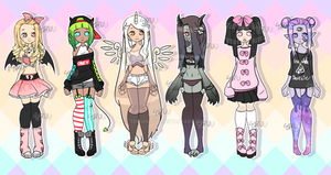 Monster girl adopts [closed] by Tenshilove