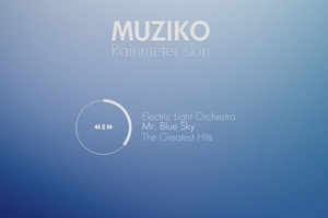Muziko for Rainmeter by NomNuggetNom