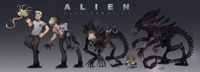 ALIEN: Transformations - TF/TG Sequence by Grumpy-TG