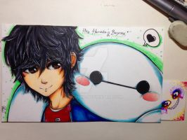BH6 Hiro and Baymax by NaiVeKID