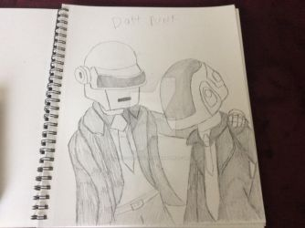 Daft punk by fossil-fighter