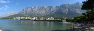 Makarska panorama by Medo145