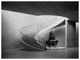 Cellar staircase by Roger-Wilco-66