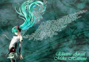 Miku The Electric Angel by D-JProductions