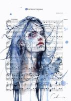Obstinate Impasse on Sheet Music by agnes-cecile