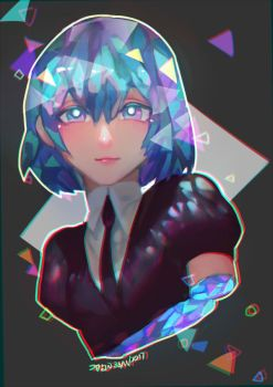Doodle- diamond by christon-clivef