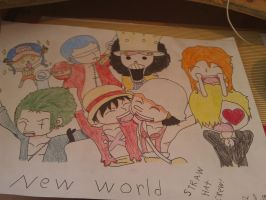 Straw hat crew! by Goldfish-24-7