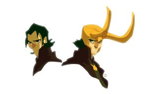 Okie Dokie Loki by cheeks-74